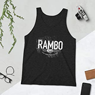 Gym Rambo Tank Top, Rambo Tank Top, Rambo Vest, Stallone Gym Vest, Last Blood Vest, Rambo Tank, Arnold Gym Vest, Golds Gym Vest,