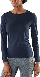 TSLA Women's Workout Shirts, Dry Fit Wicking Long Sleeve Shirts & 3/4 Sleeve Baseball Jersey Shirts, Active Sports Running...