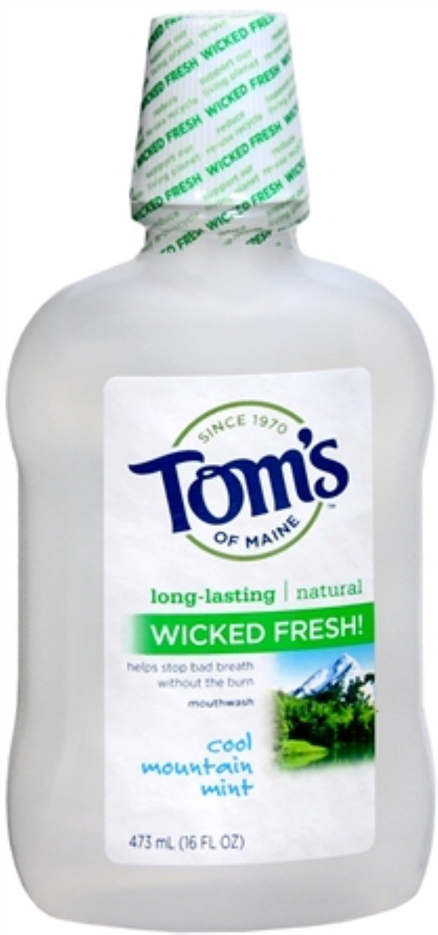 Milwaukee Mall Tom's of Maine Wicked Fresh Mouthwash Mint Cool oz Nippon regular agency Mountain 16
