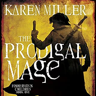The Prodigal Mage audiobook cover art