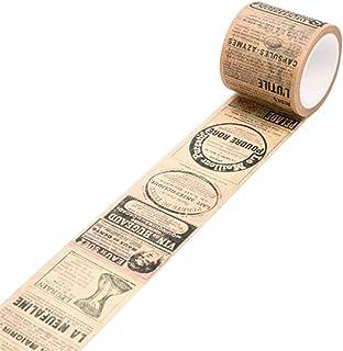 Japanpapier im Vintagestil, dekoratives Selbstklebeband zum