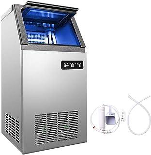 VEVOR Machine à Glaçons 220v Capable de Produire 68kg par 24heures Machine à Glace Commerciale Pour Cafés, Maisons, Restau...