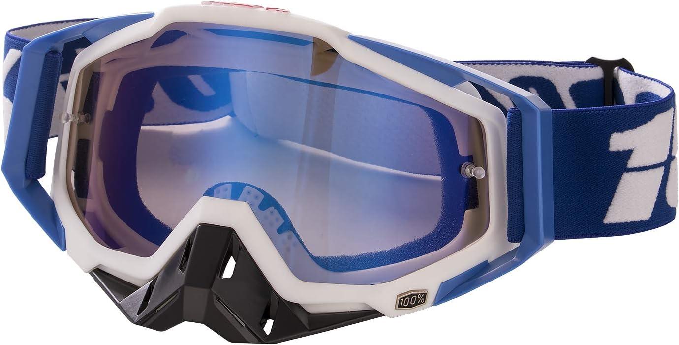 Gafas de Motocross Antivaho Gafas de Moto para Motocicleta Gafas de Esquí Anti UV Anti Viento Anti Polvo con Correa Ajustable Gafas Deportivas de Protección para Dirt Bike Racing MTB Snowboard