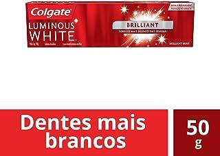 Creme Dental Colgate Luminous White Brilliant Mint 50g
