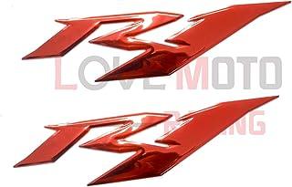 R1 LoveMoto Une paire dautocollants pour kit de car/énage moto et d/écalcomanies pour ensemble carrosserie