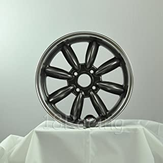 1 PC ONLY ROTA RB WHEELS 17X7.5 PCD: 4x100 OFFSET: 45 HB:56.1 GUNMETAL WITH POLISH LIP