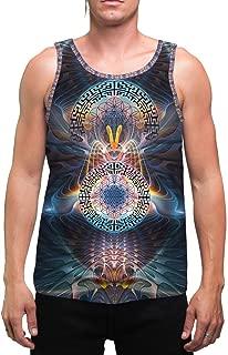StarGates   Mens   Tank Top   Spiritual   Aesthetic   Clothing   Tanks   Rave   Psychedelic   Festival   Sacred Geometry   Cosmic