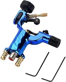 Dragonfly Tattoo Machine Guns, Shader & Liner Rotary Motor Tattooing Gun RCA Cord Artist Acessories(Blue)