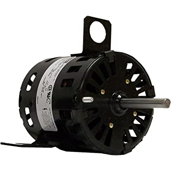 115//208-230 Volts 1 Speed 1550 RPM 1.4-.76 Amps 1//20 HP Fasco D1189 3.3-Inch Diameter Shaded Pole Motor CW Rotation Ball Bearing
