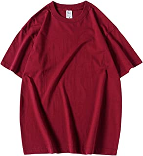 [TaaaaaaY(テーイ)] メンズ tシャツ S〜L サイズ 半袖 カジュアル ビッグ オーバーサイズ 大きい ゆったり 無地