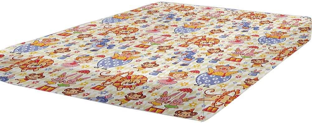 LCGGDB Kids Bedding Fitted Sheet Circus Size Ranking TOP12 Theme Courier shipping free Carnival Twin