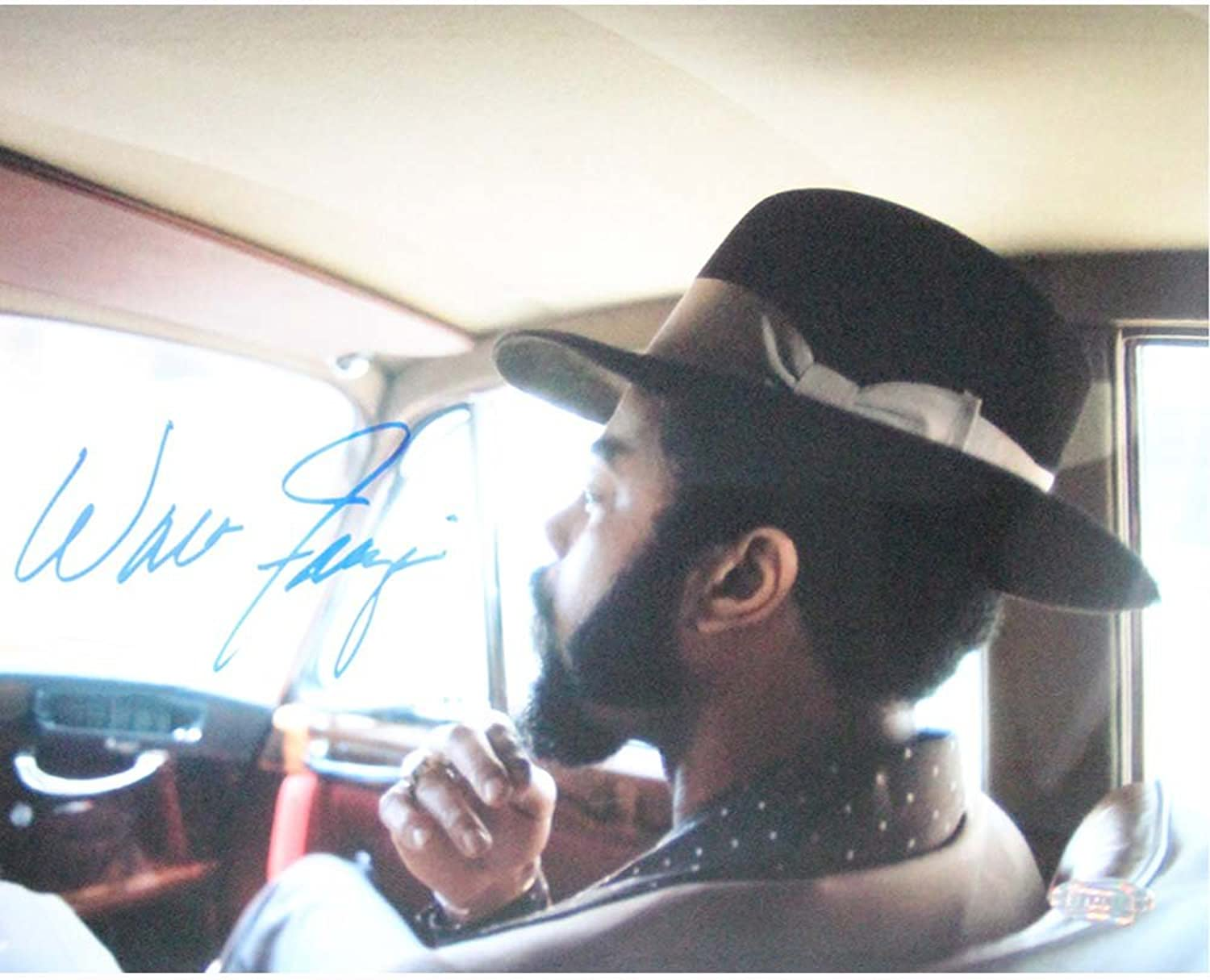 Walt Frazier Sitting in Car 16x20