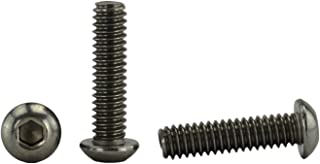 """Sponsored Ad - Stainless 1/4-20 x 1"""" (1/2"""" to 3"""" Available) Socket Button Head Cap Screws, Full Thread, Hex Drive, Stainle..."""
