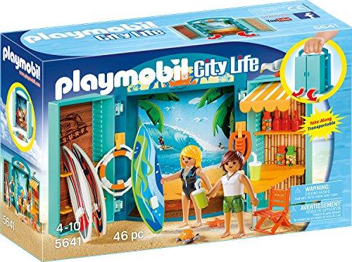 Playmobil 5641 - Surf Shop, Aufklapp-Spiel-Box