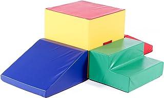 Foamnasium Gymnasium Playset, Red/Blue/Yellow/Green