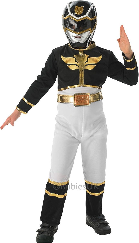 Rubie's 3887759 - schwarz Power Ranger Flat Chest Kostüm,  Größe   S B00FFBOA14 Geeignet für Farbe  | Garantiere Qualität und Quantität