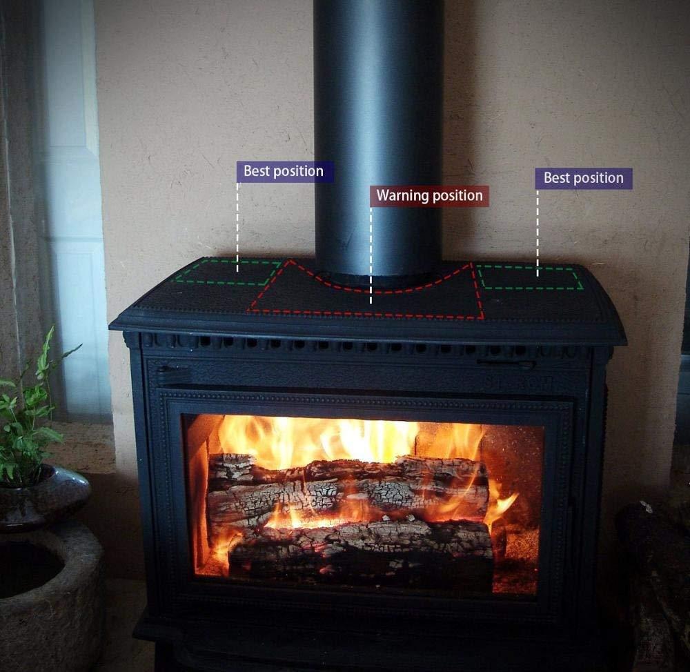 Cozywind Ventilador para Estufa de Leña o Chimenea en Invierno ...
