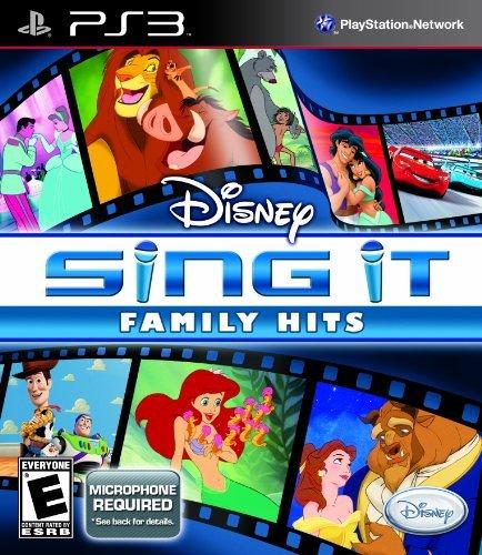 Disney Sing It: Family Hits - Playstation 3 by Disney Interactive Studios