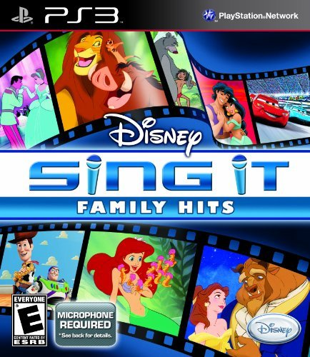 Disney Sing It: Family Hits - Playstation 3 by Disney Interactive Studios