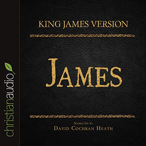 Holy Bible in Audio - King James Version: James cover art