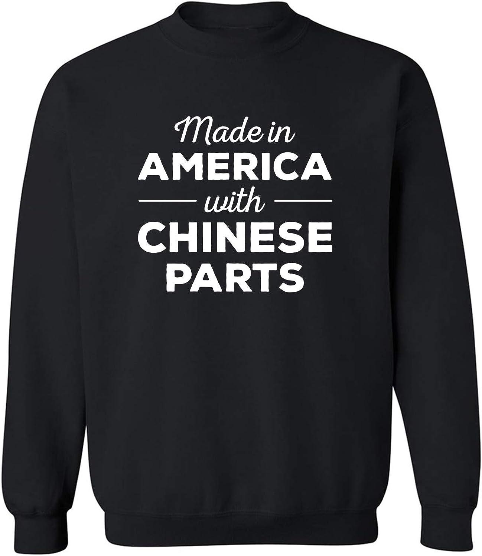 Made In America w/ Chinese Parts Crewneck Sweatshirt