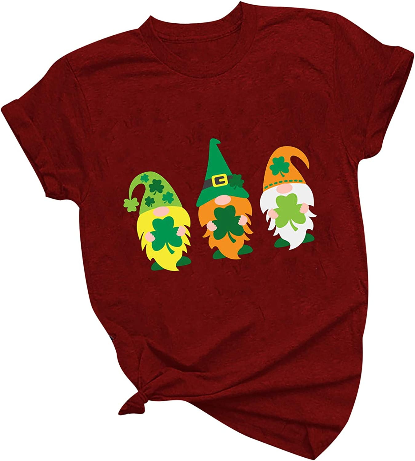 Tenworld Max 57% OFF B Womens Funny St Patricks Green Graphic Easy-to-use Day Shirts Tee