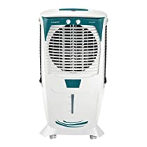 [Select Pincode] Crompton Ozone 55-Litre Inverter Compatible Desert Air Cooler (White and Teal)