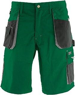 REIS Pantalon de Travail Court pour Hommes, 270g/m², 65% Polyester 35% Coton, Pantalons de Travail, Pantalons de Jardin, P...
