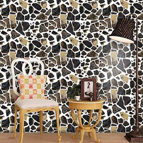 shiyueNB baksteen behangstang internet-Caférestaurant-kledingwinkel achtergrond muur baksteen behang van driedimensionale retro baksteen patroon 3D oud 40 * 300cm C