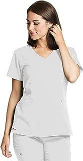 Grey's Anatomy Spandex-Stretch Kim Top for Women - Easy Care Medical Scrub Top