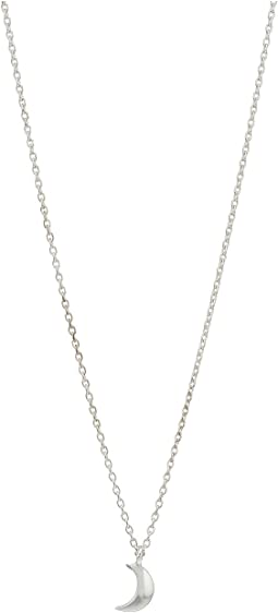 Shinola Detroit - Crescent Moon Charm Necklace