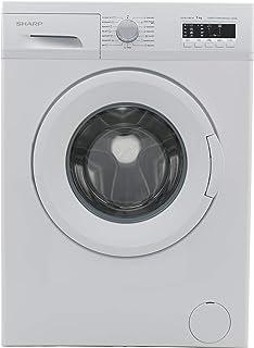 Sharp 7 Kg, 1000 RPM, Front Load Washing Machine, Made in Turkey, White - ES-FE710CZ-W