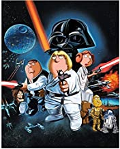 Family Guy (TV Series 1999 - ) 8 inch by 10 inch PHOTOGRAPH Blue Harvest Cast Poster kn