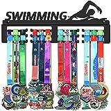 WEBIN - Porta medaglie da Nuoto, Supporto per medaglie, Supporto da Parete per Nuotatore, ...