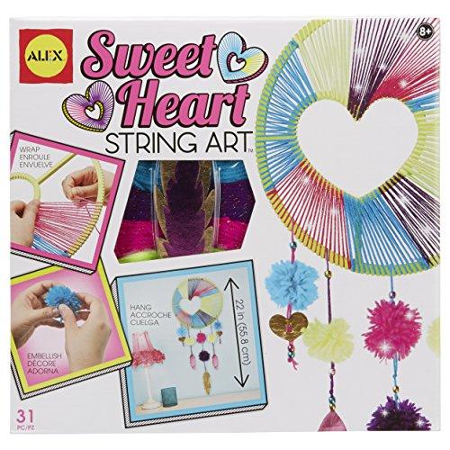 Alex Craft Sweetheart String Art Kids Art and Craft Activity