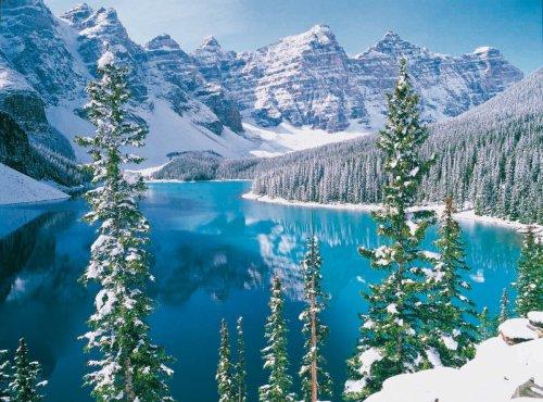 Clementoni 31909.1 - Puzzle Collezione Alta Qualità Lago Moraine Canada, 1500 Pezzi