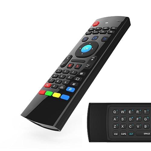 Zedo MX3 Air Mouse 2.4GHz Wireless Keyboard For Google Android Mini PC TV Box, T95N T95Z plus QBox M8 M8S Plus T8 MXQ Pro MXIII