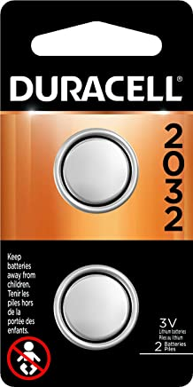Duracell - 2032 3V Lithium Coin Battery - Long Lasting Battery - 2 Count