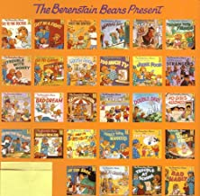 Set of 5 Berenstain Bears Books: The Berenstain Bears and Too Much Pressure, Trouble With Friends, Bad Dream, Get Their Kicks, Green-Eyed Monster (The Berenstain Bears)