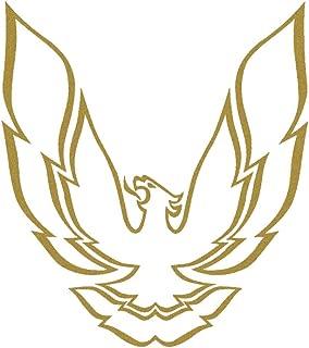 1998 1999 2000 2001 2002 Pontiac Firebird Trans Am Hood & Sailbirds Only Decals Kit - Metallic Gold