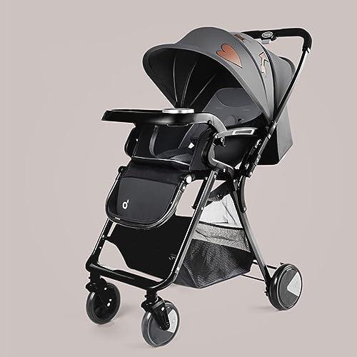 Kinderfürr r Duo Babysing Kinderwagen Newborn Kids Kinderwagen 0-36 Monate Alt Baby Kinderwagen mit wetterfestem Bezug