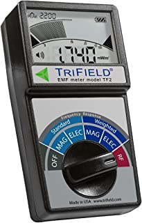 Electric Field, Radio Frequency (RF) Field, Magnetic Field Strength Meter by Trifield –..