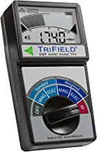 Electric Field, Radio Frequency (RF) Field, Magnetic Field Strength Meter by Trifield – EMF Meter Model TF2 – Detect 3 Types of Electromagnetic Radiation with 1 Device – Made in USA by AlphaLab, Inc.
