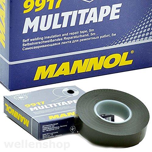 MANNOL 5m Multitape Isolierband Reparaturband selbstverschweißend