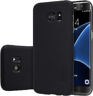 Nillkin Samsung Galaxy S7 Edge Frosted Hard Shield Phone Case Cover & Screen Guard - Black