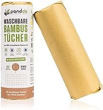 Pandoo - Rollo de Papel Ecológico Reutilizable de Bambú para Cocina y Hogar