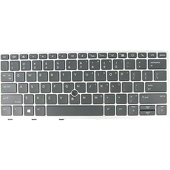 New US Black Backlit English Laptop Keyboard Replacement for HP EliteBook 850 G6 Light Backlight