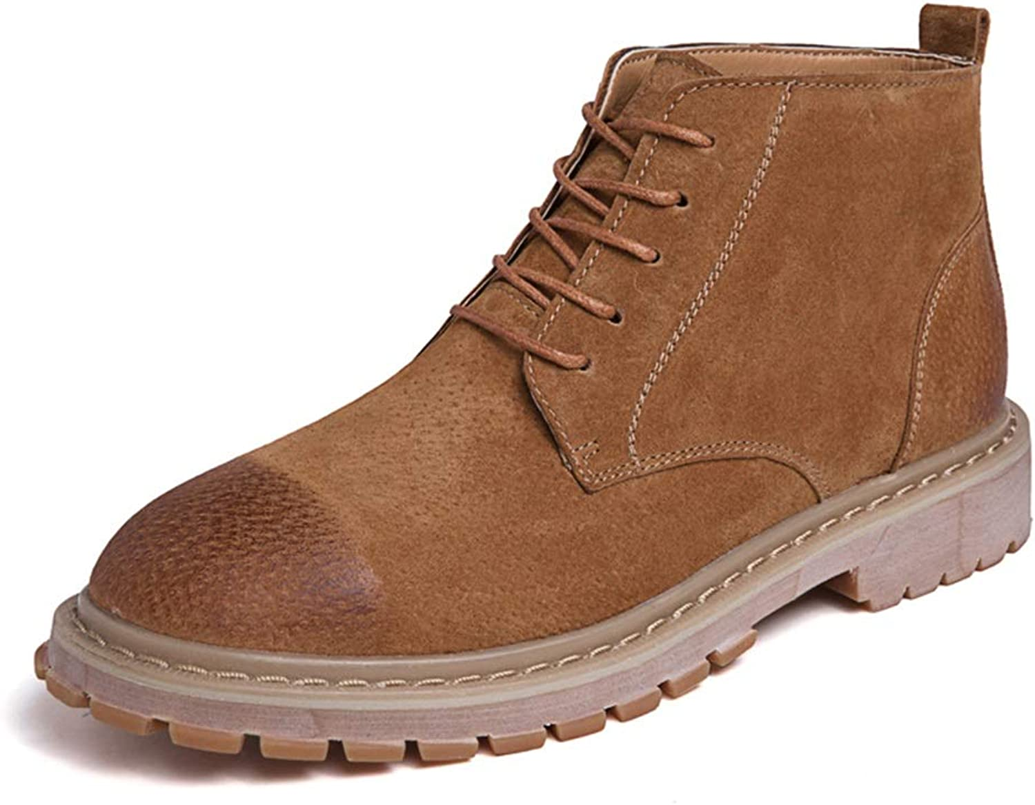 Men's shoes Retro Ankle Work Boot Casual Simple and Comfortable Classic High Top Boot Cricket shoes