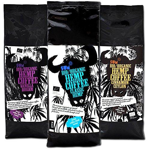 Hanfkaffee– Bio, vegan und glutenfrei– 500-g-Großpackung