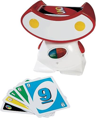 Mattel T8201 - UNO Rocking Robot, Kartenspiel